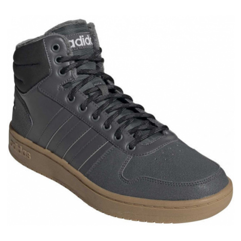 adidas HOOPS 2.0 MID grey - Men's leisure footwear
