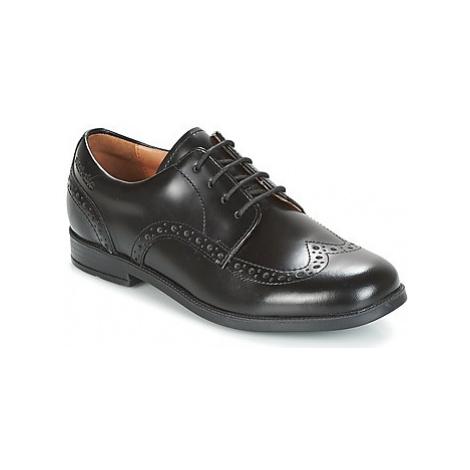 Start Rite BROGUE PRI girls's Children's Casual Shoes in Black