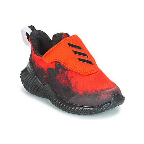 Adidas FORTARUN SPIDER-MAN boys's Children's Sports Trainers in Red