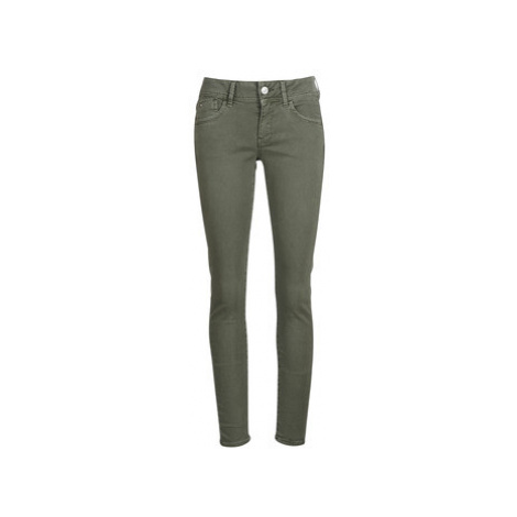 G-Star Raw LYNN MID SKINNY COJ women's Trousers in Kaki