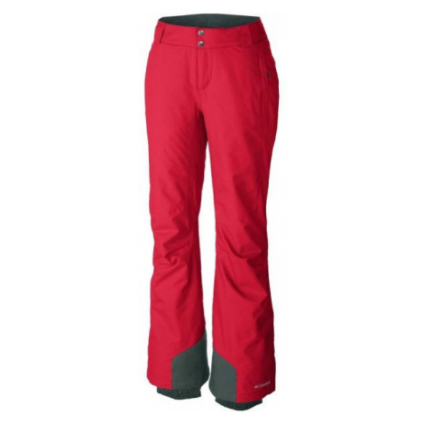 Columbia BUGABOO OH PANT red - Women's ski pants