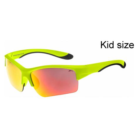 glasses Relax Klippa - R3078D/Matte Green/Gray Cloud/Inferno Platinum - kid´s