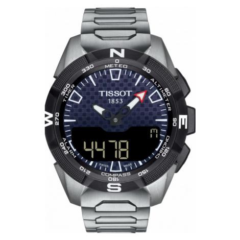 Gents Tissot T-Touch Solar Ii Watch T1104204405100