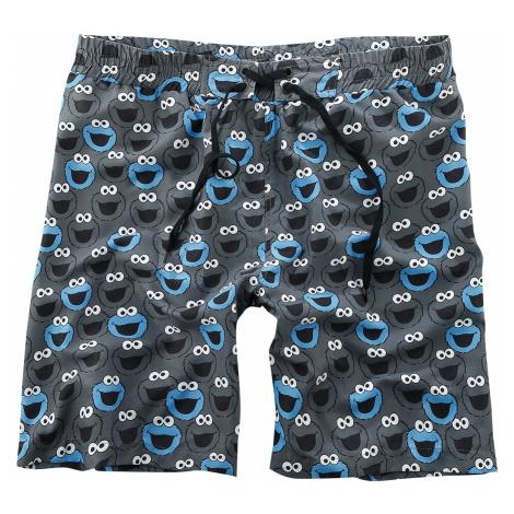 Sesame Street - Cookie Monster - Swim trunks - black
