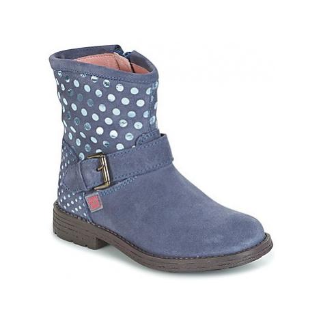 Agatha Ruiz de la Prada VAGABUNDA AGATHA girls's Children's Mid Boots in Blue