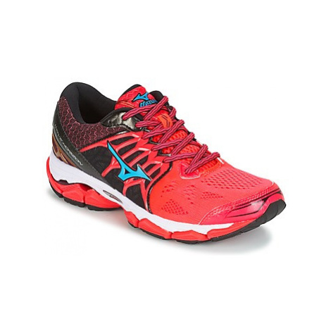 Mizuno WAVE HORIZON women's Running Trainers in Red