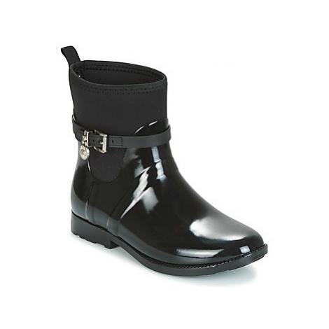MICHAEL Michael Kors CHARM STRECH RAINBOOTIE women's Wellington Boots in Black
