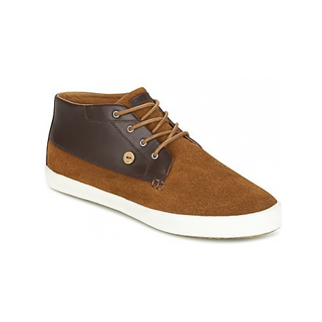 Faguo WATTLE03 men's Shoes (High-top Trainers) in Brown