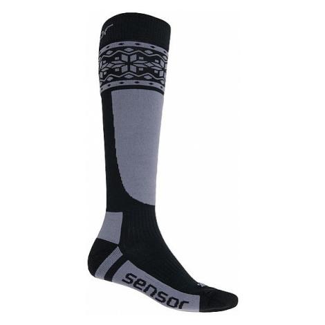 socks Sensor Thermosnow Norway - Black/Gray