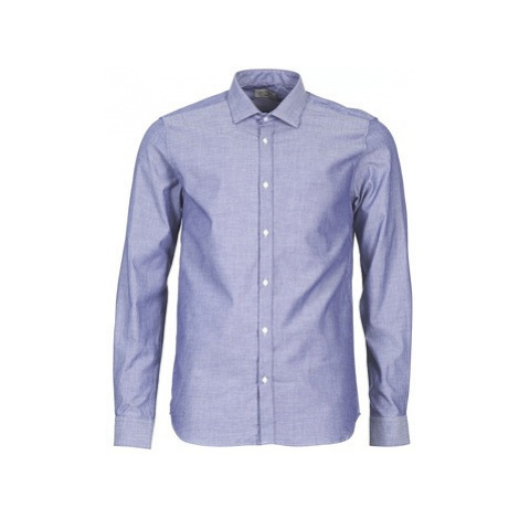Casual Attitude FILENI men's Long sleeved Shirt in Blue