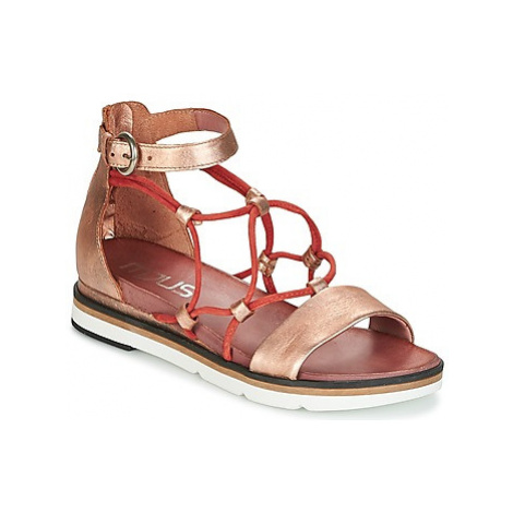 Mjus INA women's Sandals in Gold