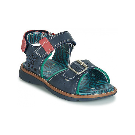 Catimini SUREAU boys's Children's Sandals in Blue