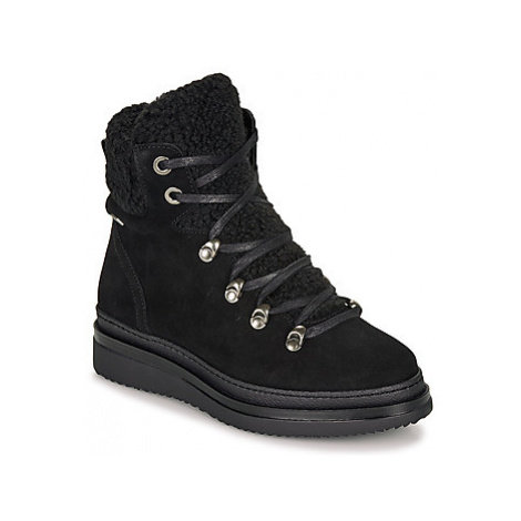 Musse Cloud ANIKA women's Mid Boots in Black Musse & Cloud