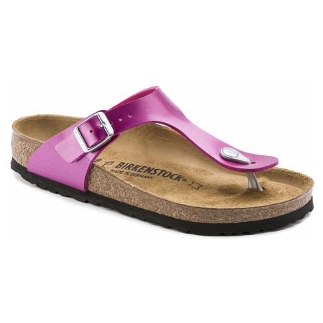 flip flops Birkenstock Gizeh - Electric Metallic Magenta - women´s