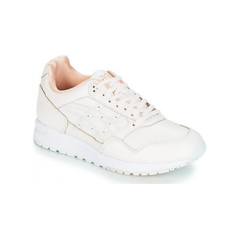 Asics GEL-SAGA LEATHER women's Shoes (Trainers) in Pink