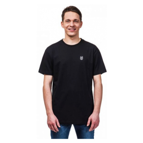 Horsefeathers HORN SS T-SHIRT black - Men's T-shirt