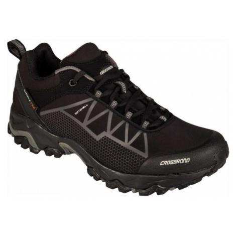 Crossroad DRAGON LOW black - Men's trekking shoes