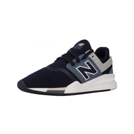 New Balance WS247 women's Shoes (Trainers) in Blue