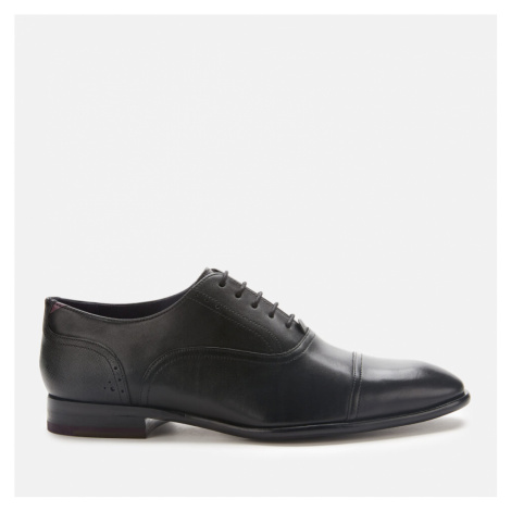 Ted Baker Men's Circass Leather Toe Cap Oxford Shoes - Black - UK
