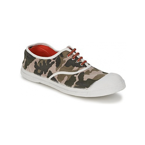 Bensimon TENNIS CAMOFLUO women's Shoes (Trainers) in Beige