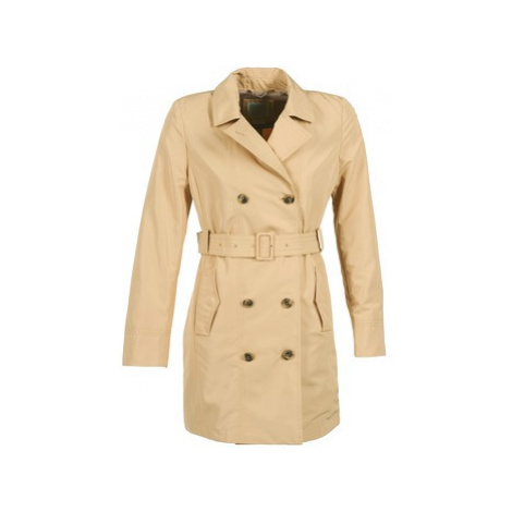 Geox LAURA women's Trench Coat in Beige