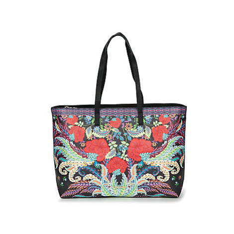 Desigual FEATHER REDMOND women's Shopper bag in Multicolour