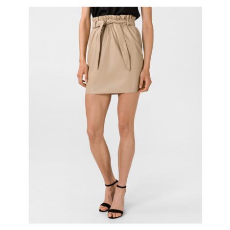 Vero Moda Awardbelt Skirt Beige