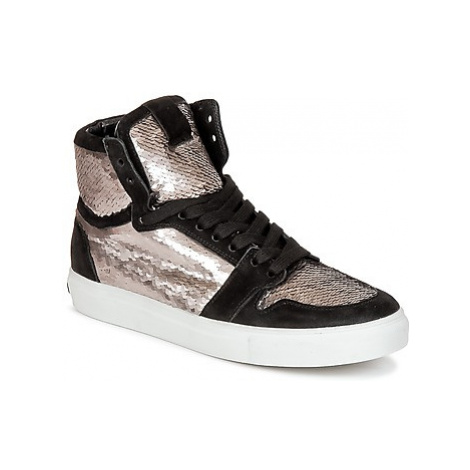 Kennel + Schmenger UASI women's Shoes (High-top Trainers) in Silver Kennel & Schmenger