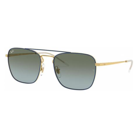 Ray-Ban Rb3588 Man Sunglasses Lenses: Green, Frame: Gold - RB3588 9062I7 55-19