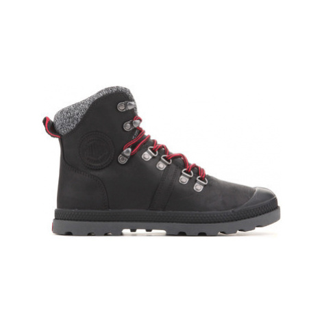 Palladium Pallabrouse Hikr 95140-041 women's Walking Boots in Black