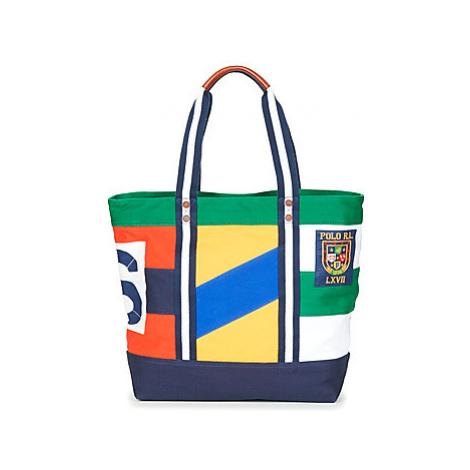 Polo Ralph Lauren YL PTCHW TTE women's Shopper bag in Multicolour