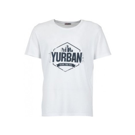 Yurban ESALOIRE men's T shirt in White