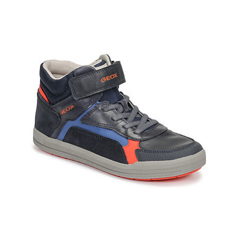 Geox J ARZACH BOY boys's Children's Shoes (High-top Trainers) in Blue
