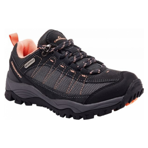 Crossroad DERCH black - Kids' trekking shoes