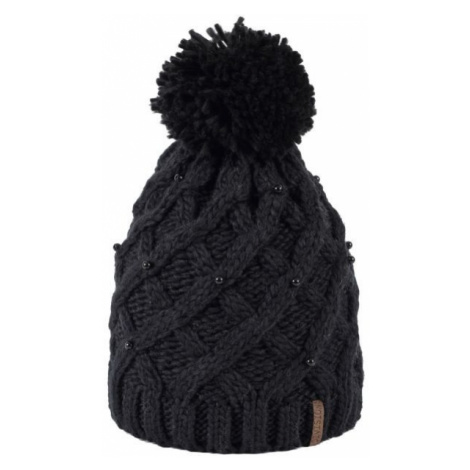 Finmark DIVISION black - Women's knitted hat