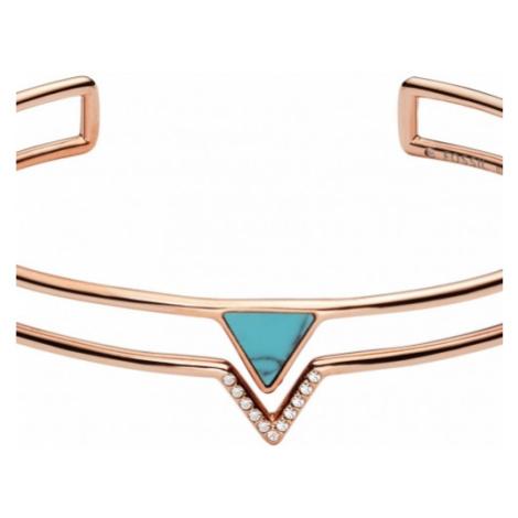 Fossil Jewellery Turquoise Torque Bangle JEWEL JF02643791