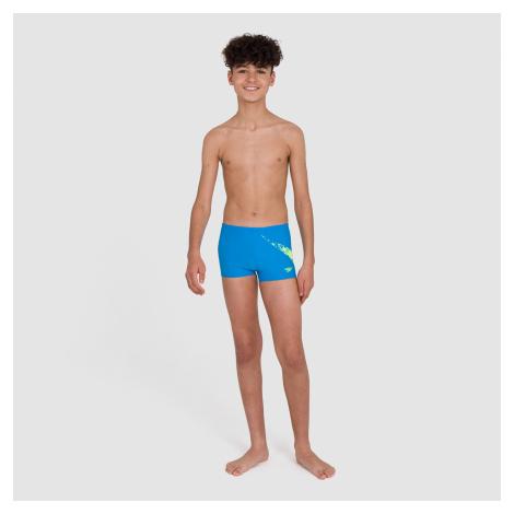 Kids Boy's Boomstar Placement Aquashort Blue Speedo