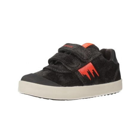 Geox B KILWI BOY boys's Children's Shoes (Trainers) in Black