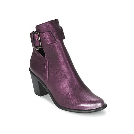 Miista MIMI women's Low Ankle Boots in Purple