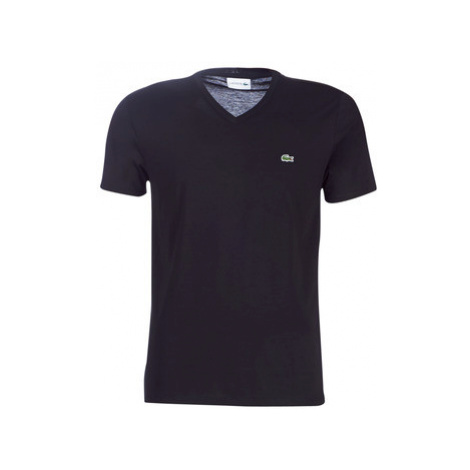 Lacoste TH6710 men's T shirt in Black