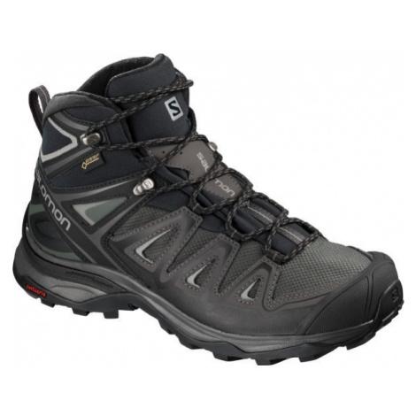 Salomon X ULTRA 3 MID GTX W grey - Women's hiking shoes