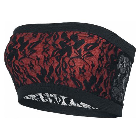 Black Premium by EMP - I'm Free - Girls Bandeau Top - black-red