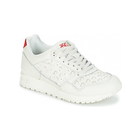 Asics GEL-SAGA VALENTINE LEATHER women's Shoes (Trainers) in White