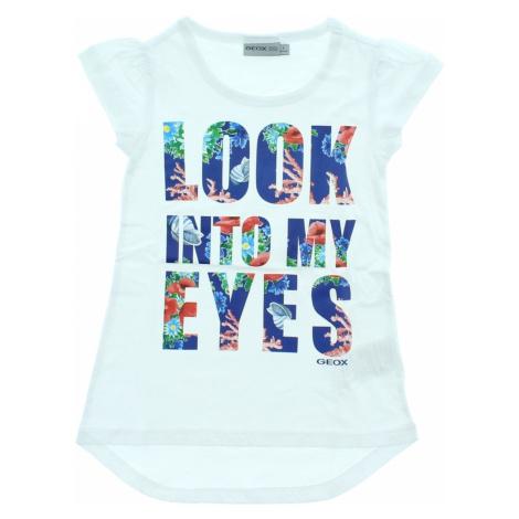 Geox Kids T-shirt White