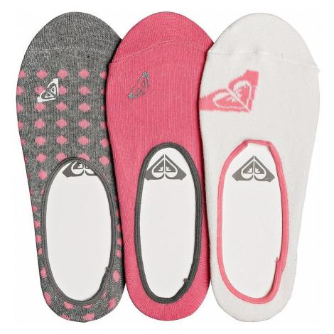 socks Roxy Liner 3 Pack - WBT0/Marshmellow - women´s