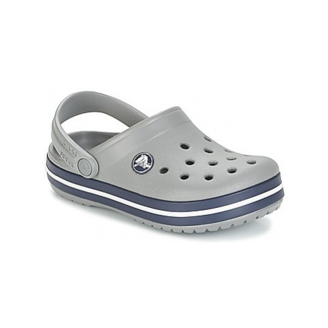 Crocs CROCBAND CLOG K girls's Children's Clogs (Shoes) in Grey