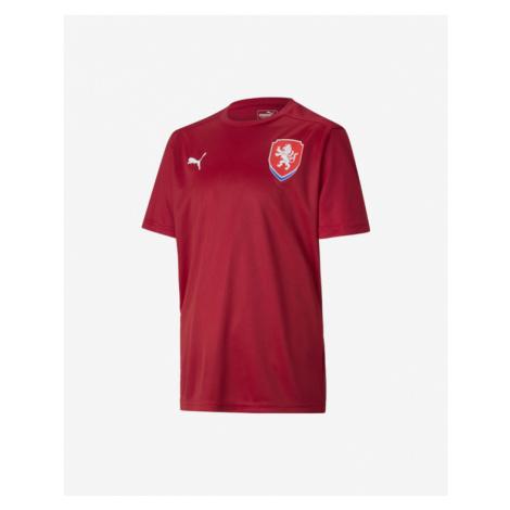 Puma Czech Republic Home Kids T-shirt Red Colorful