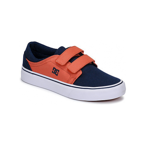 DC Shoes TRASE V B SHOE IND boys's Children's Shoes (Trainers) in Blue