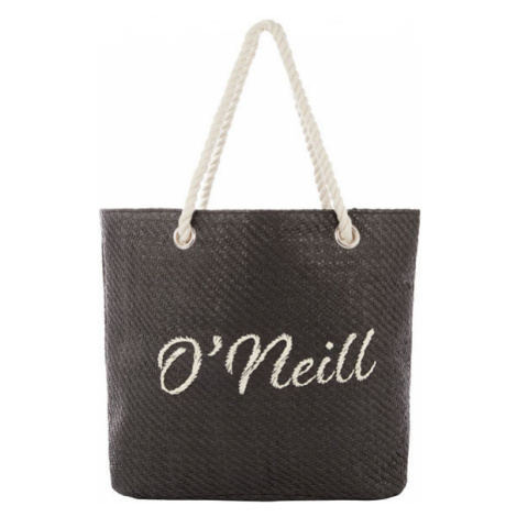 O'Neill BW BEACH BAG STRAW black - Women's beach handbag
