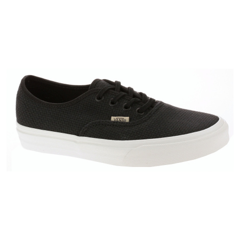 shoes Vans Authentic - Woven Check/Black/Snow White